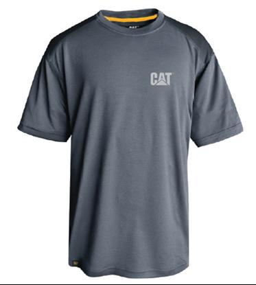 caterpillar tee shirt performance conquete