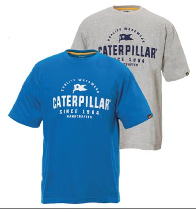 caterpillar tee shirt handcrafted