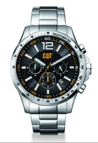 caterpillar, horloge, uurwerk, watch