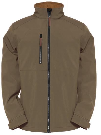 Afbeelding van Caterpillar softshell jacket 1310048 kaki